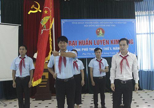 Phú Thọ: 46 trại sinh tham gia trại huấn luyện Kim Đồng lần thứ I, năm 2016