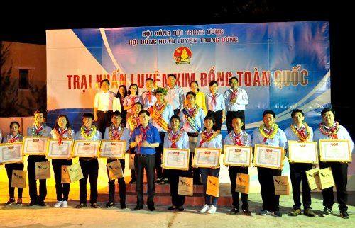 Bế mạc Trại Huấn luyện Kim Đồng toàn quốc - khu vực miền Nam năm 2017