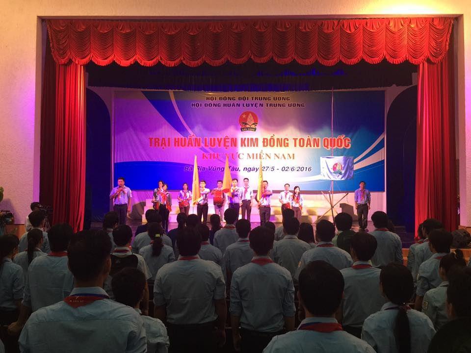 Khai mạc trại Huấn luyện Kim Đồng khu vực phía Nam