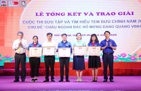 Lễ tổng kết và trao giải cuộc thi sưu tập và tìm hiểu tem Bưu chính năm 2020