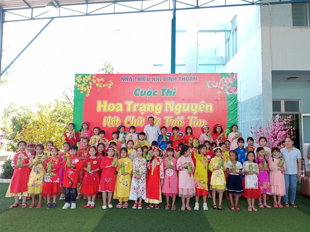 NTN Bình Thuận: Cuộc thi Hoa Trạng Nguyên - Nét chữ từ trái tim năm 2021