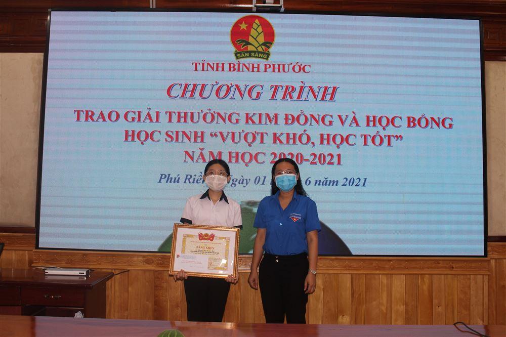 Bình Phước: Em Phạm Thị Xuân Mai: Xứng danh cháu ngoan Bác Hồ