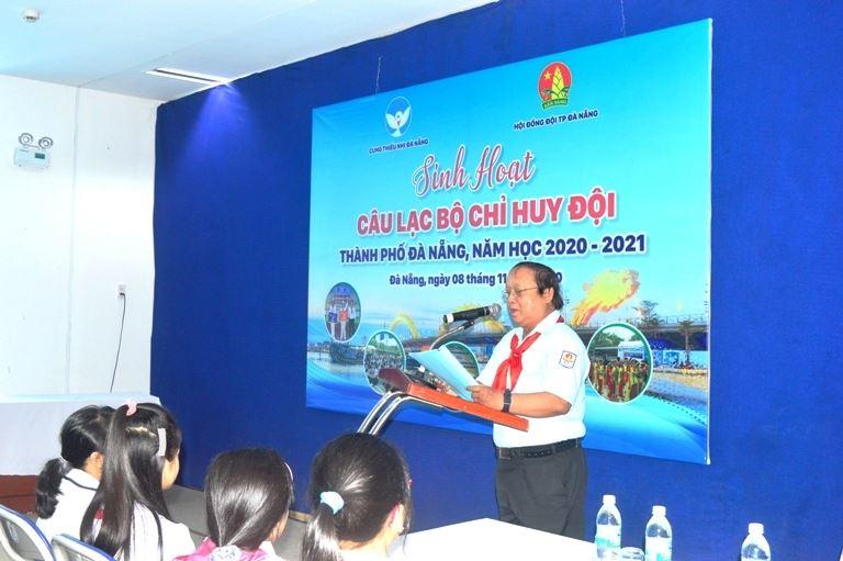 Sinh hoạt Câu lạc bộ kỹ năng Công tác Đội Cung Thiếu nhi Đà Nẵng