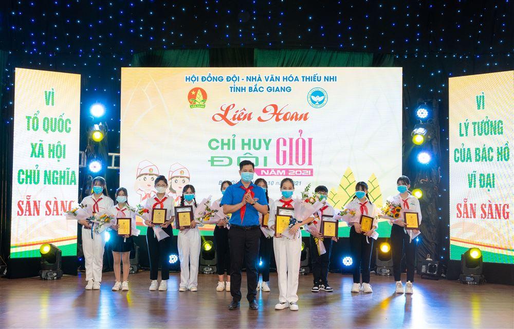 Bắc Giang: Liên hoan Chỉ huy đội giỏi tỉnh Bắc Giang năm 2021