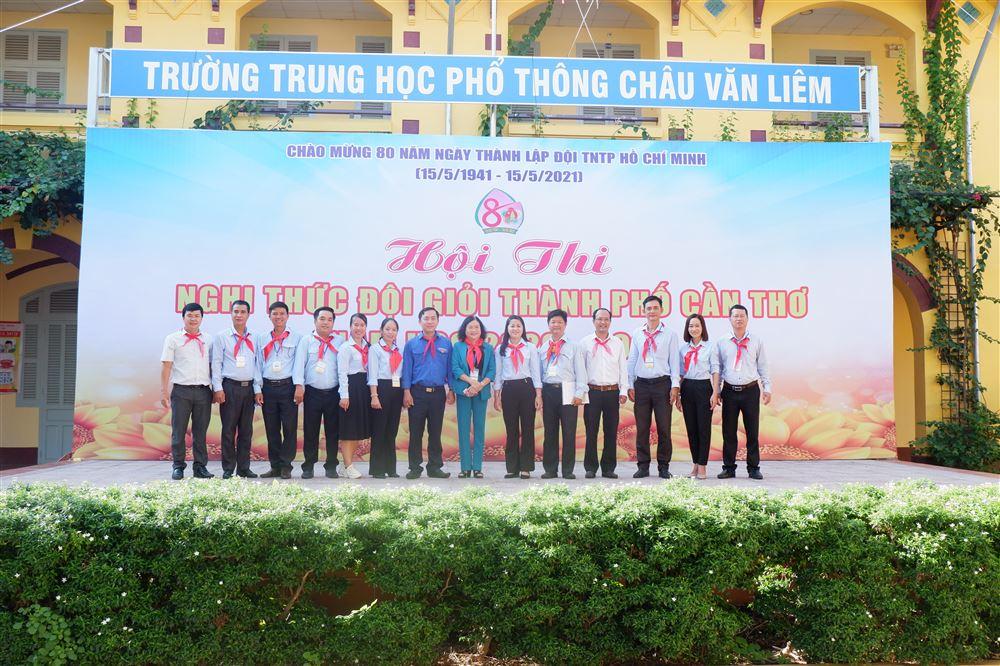 CẦN THƠ: Tổ chức Hội thi Nghi thức Đội giỏi cấp thành phố, năm học 2020 - 2021