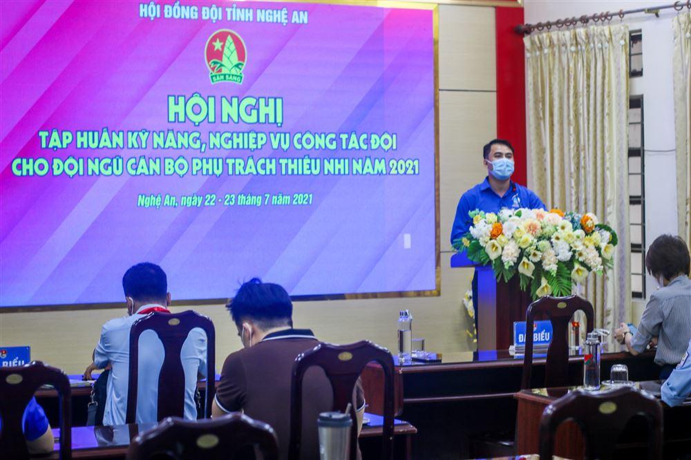Nghệ An: Tập huấn kỹ năng nghiệp vụ công tác Đội cho đội ngũ cán bộ phụ trách thiếu nhi năm 2021