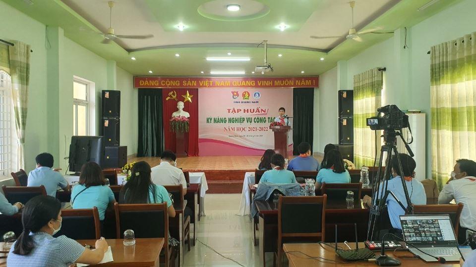 Quảng Nam: Khai mạc tập huấn công tác Đội và phong trào thiếu nhi năm học 2021-2022
