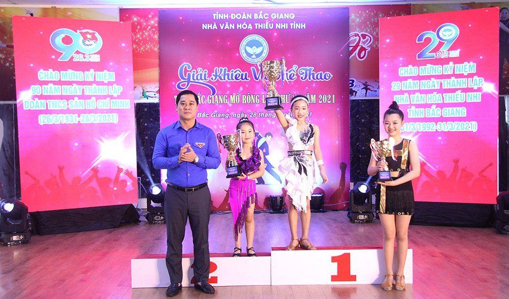 Bắc Giang: Tổ chức thành công Giải khiêu vũ thể thao tỉnh Bắc Giang mở rộng lần thứ II năm 2021.