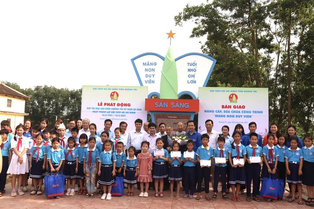 Quảng Trị: Phát động đợt thi đua cao điểm chào mừng kỷ niệm 80 năm Ngày thành lập Đội TNTP Hồ Chí Minh (15/5/1941 – 15/5/2021)