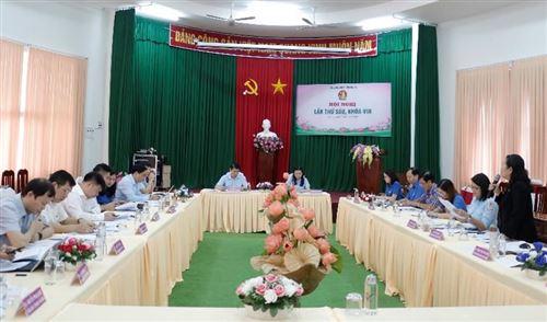 Hội đồng đội Trung ương tổ chức Hội nghị lần thứ sáu, khóa VIII
