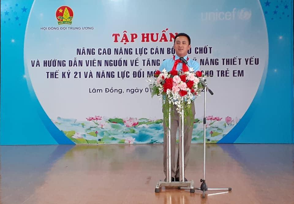 Lâm Đồng – Đăng cai tổ chức Lớp tập huấn kỹ năng thiết yếu thế kỷ 21 và năng lực sáng tạo cho trẻ em