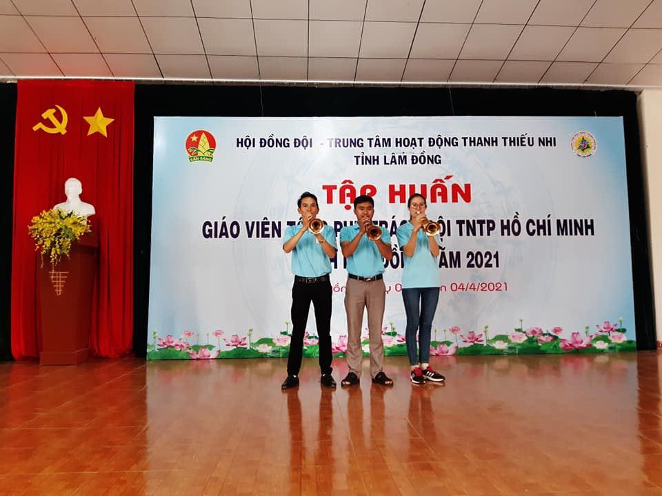 Lâm Đồng – Tổ chức Lớp tập huấn giáo viên Tổng phụ trách Đội tỉnh Lâm Đồng năm 2021