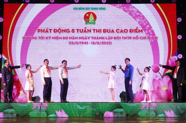 Phát động đợt thi đua cao điểm mừng 80 năm Ngày thành lập Đội TNTP Hồ Chí Minh