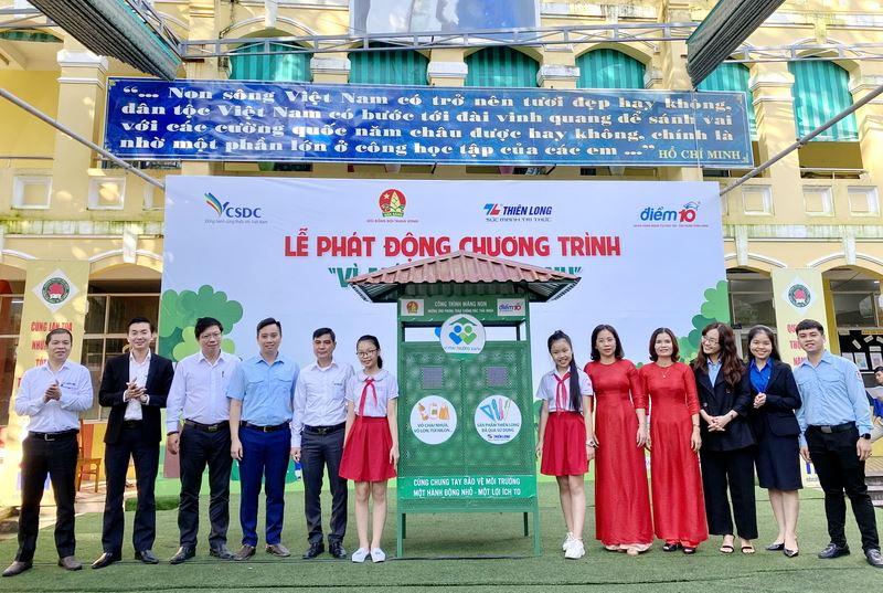 Chương trình Vì mái trường xanh đến với ba miền Bắc, Trung, Nam
