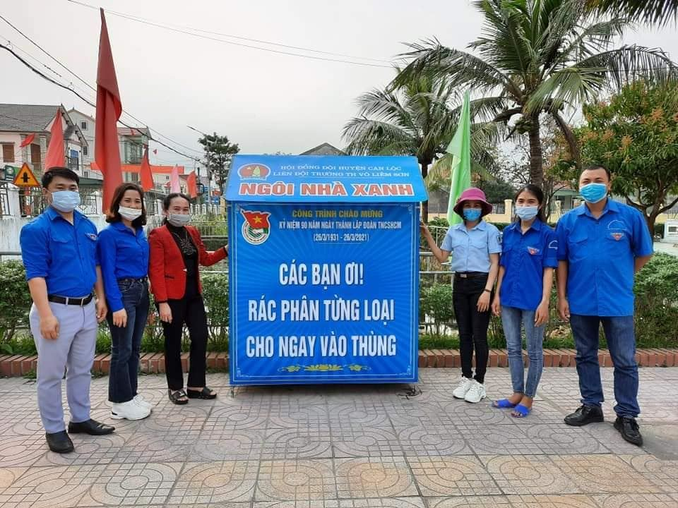 """Hà Tĩnh - Lan toả từ công trình măng non """"Ngôi nhà Kế hoạch nhỏ"""" chào mừng Kỷ niệm 90 năm thành lập Đoàn TNCS Hồ Chí Minh (26/3/1931-26/3/2021), 80 năm thành lập Đội TNTP Hồ Chí Minh (15/5/1941-15/5/2021)"""
