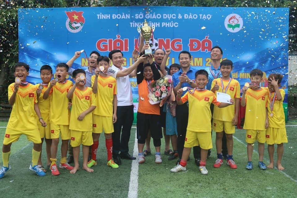 Vĩnh phúc tổ chức thành công giải bóng đá thiếu niên nhi đồng lần thứ I năm 2021