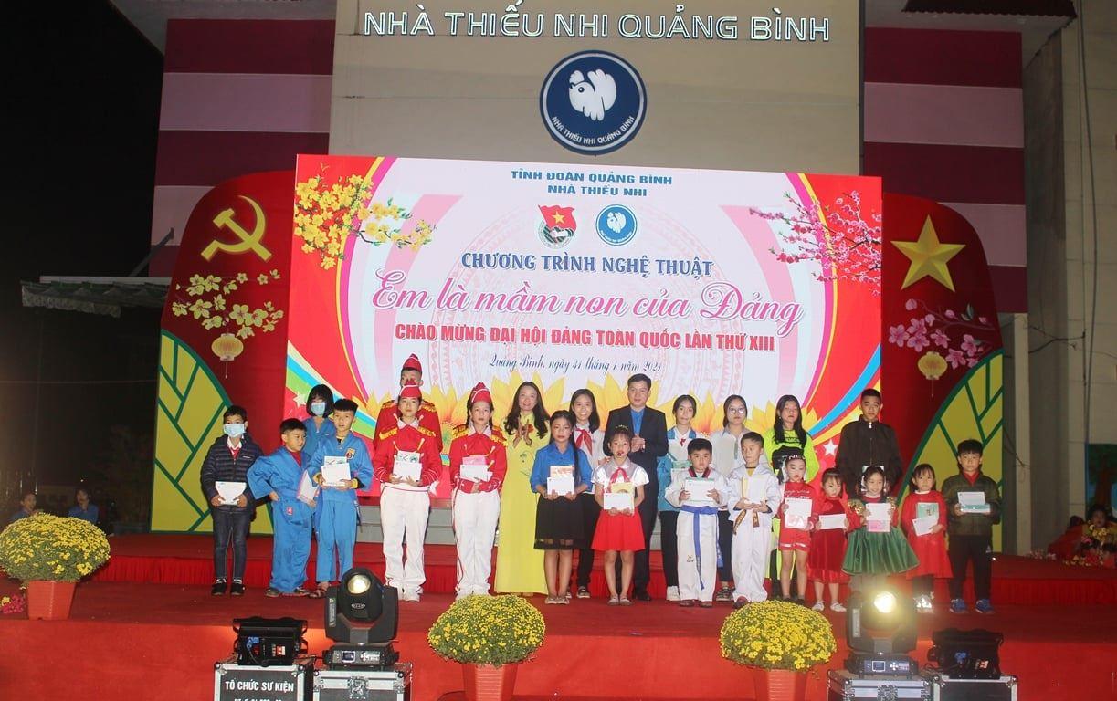 Quảng Bình: Tổ chức Chương trình nghệ thuật Em là mầm non của Đảng