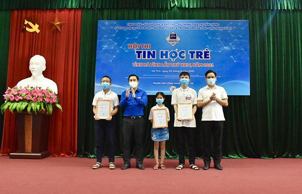 Tổ chức thành công hội thi tin học trẻ tỉnh Hà Tĩnh lần thứ XXIV, năm 2021