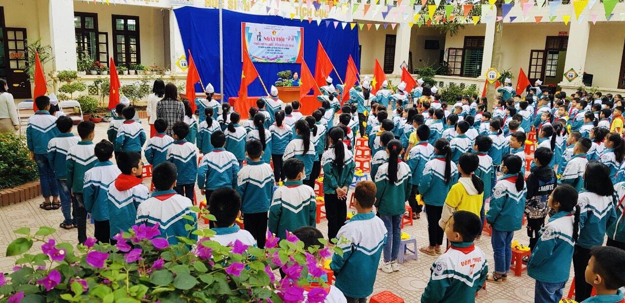 """Bắc Ninh sôi nổi tổ chức  Ngày hội """"Thiếu nhi vui khoẻ - Tiến bước lên Đoàn"""""""