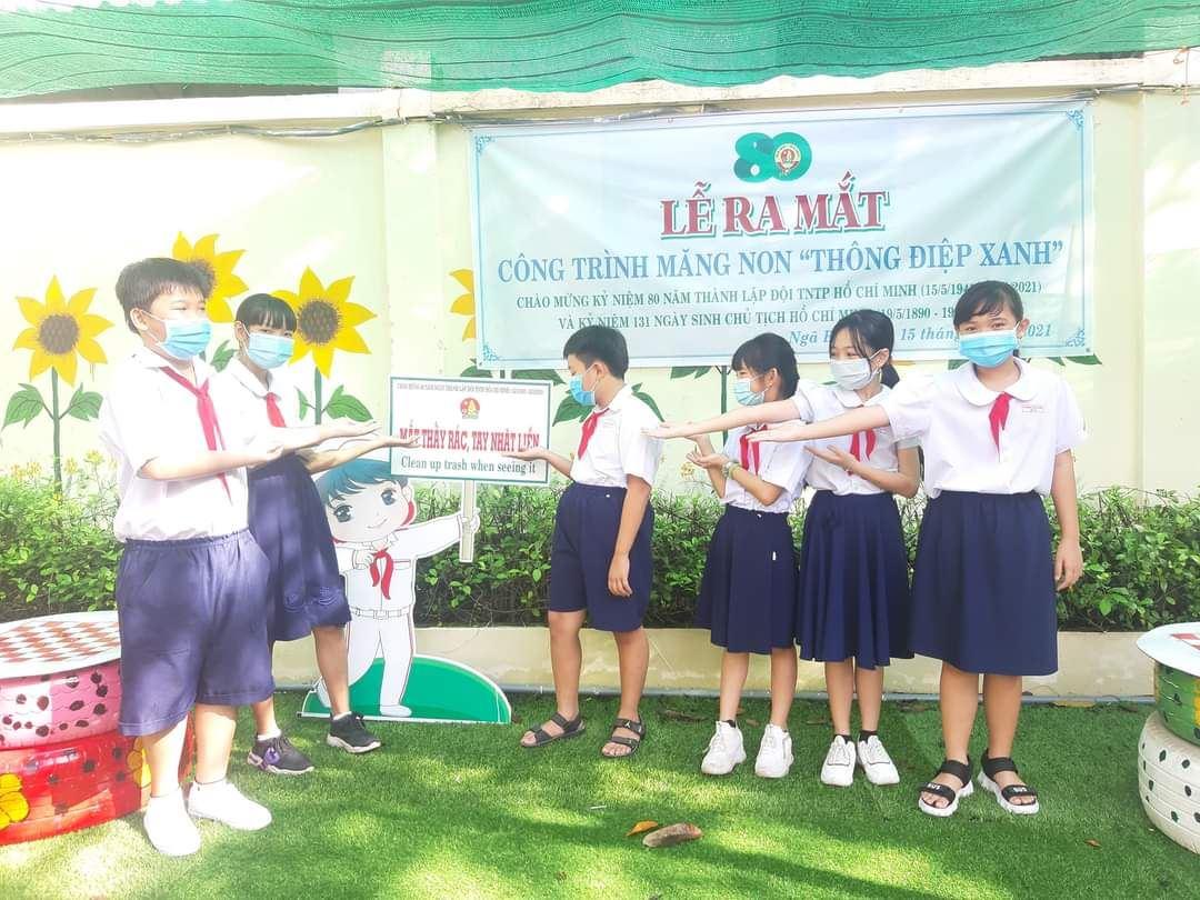 Hậu Giang: Nhiều hoạt động, công trình  chào mừng kỷ niệm 80 năm Ngày thành lập Đội thiếu niên Tiền phong Hồ Chí Minh
