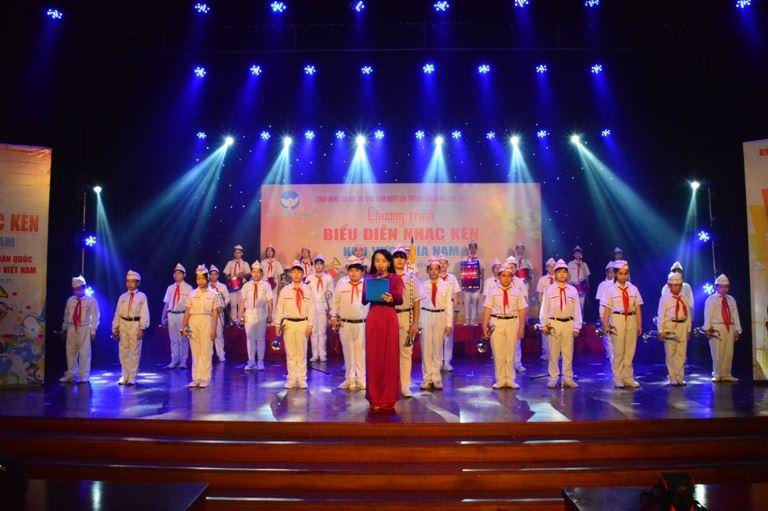 Đà Nẵng, biểu diễn nhạc kèn Chào mừng đại hội Đảng toàn quốc lần thứ XIII.