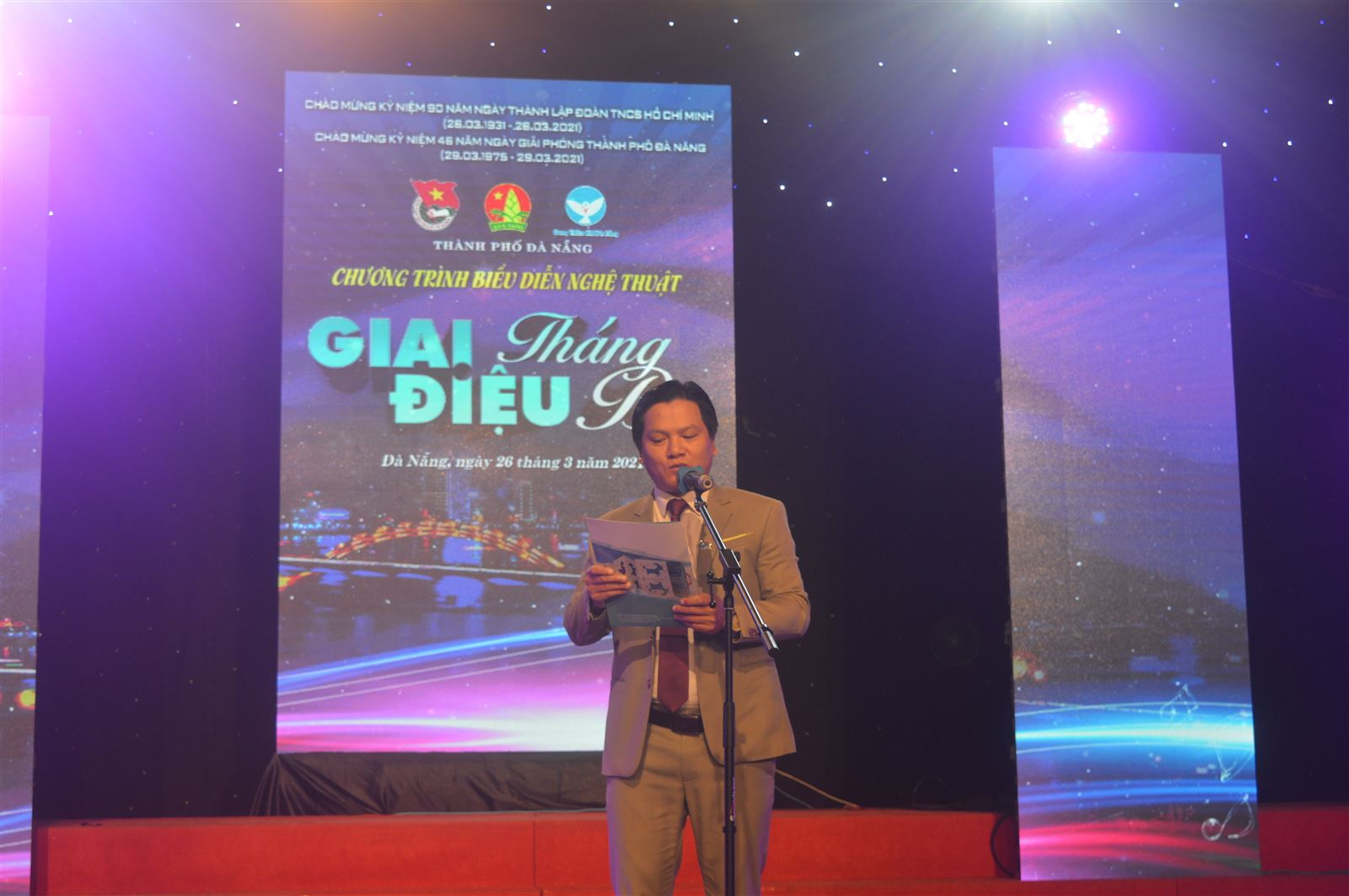 """Đà Nẵng - Chương trình nghệ thuật """"Giai điệu Tháng ba"""" 2021"""