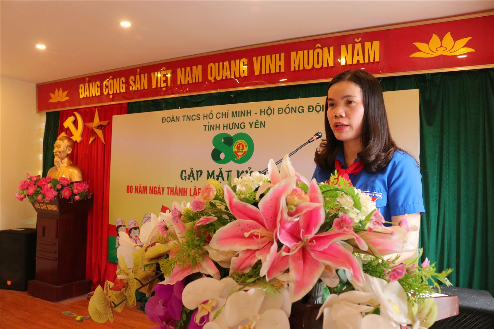 Tỉnh đoàn – Hội đồng Đội tỉnh Hưng Yên: Gặp mặt kỷ niệm 80 năm thành lập Đội TNTP Hồ Chí Minh