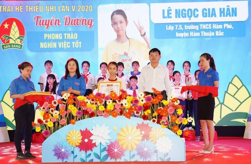 Trại hè thiếu nhi Bình Thuận để lại nhiều ấn tượng sâu sắc