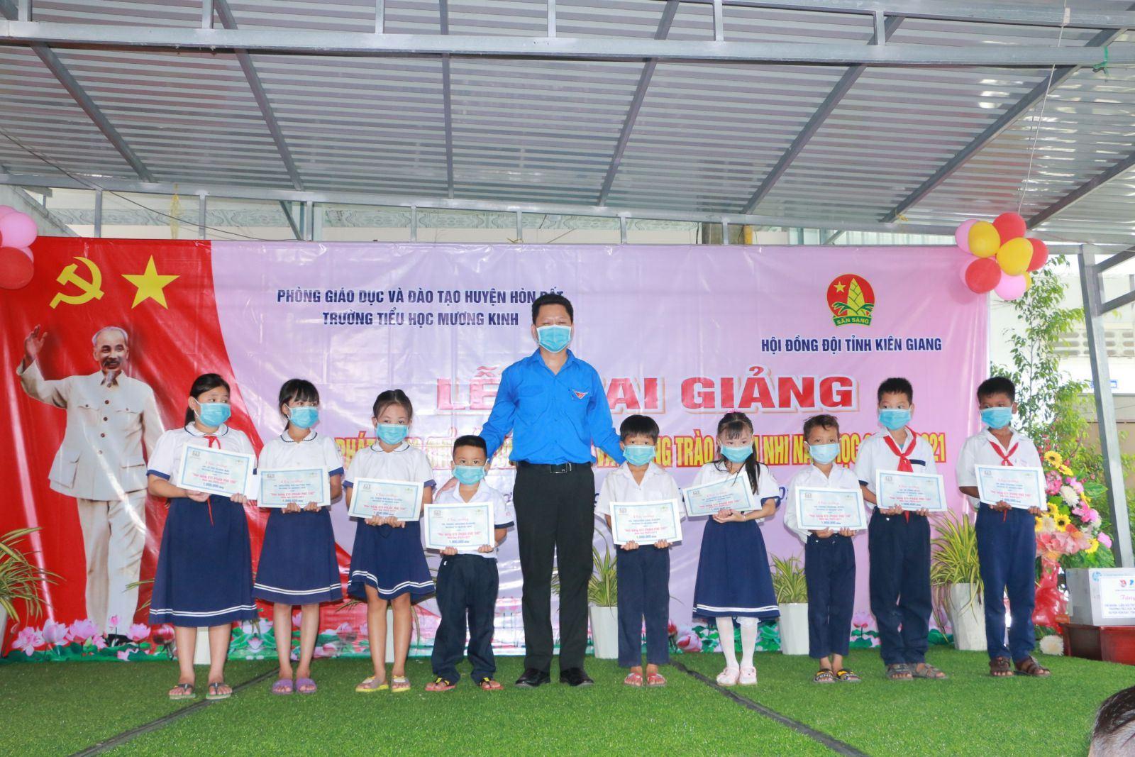 Kiên Giang: tổ chức phát động chủ đề công tác Đội và phong trào thiếu nhi năm học 2020 – 2021