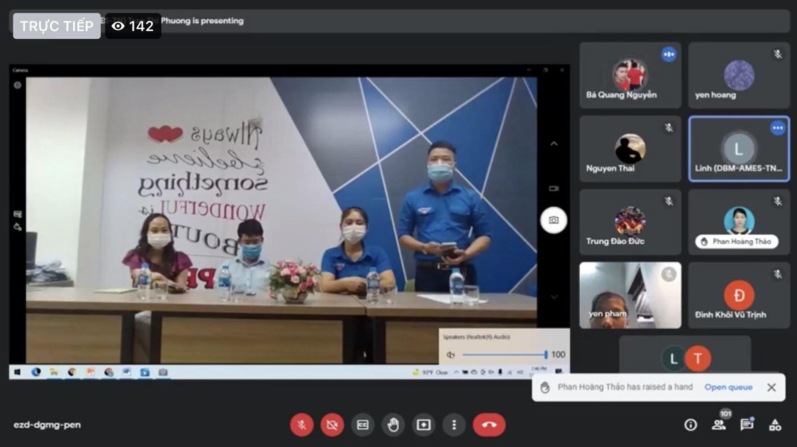 Hội đồng Đội thành phố Thái Nguyên khai giảng lớp học Tiếng anh trực tuyến miễn phí hè 2021