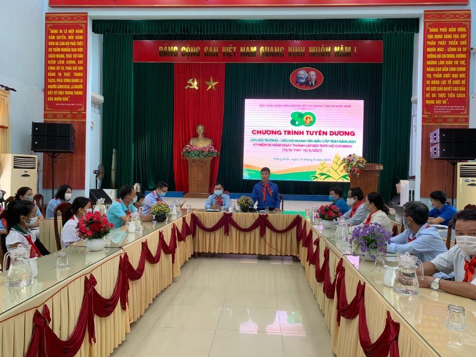 Quảng Nam: Sinh hoạt trực tuyến kỉ niệm 80 năm Ngày thành lập Đội TNTP Hồ Chí Minh