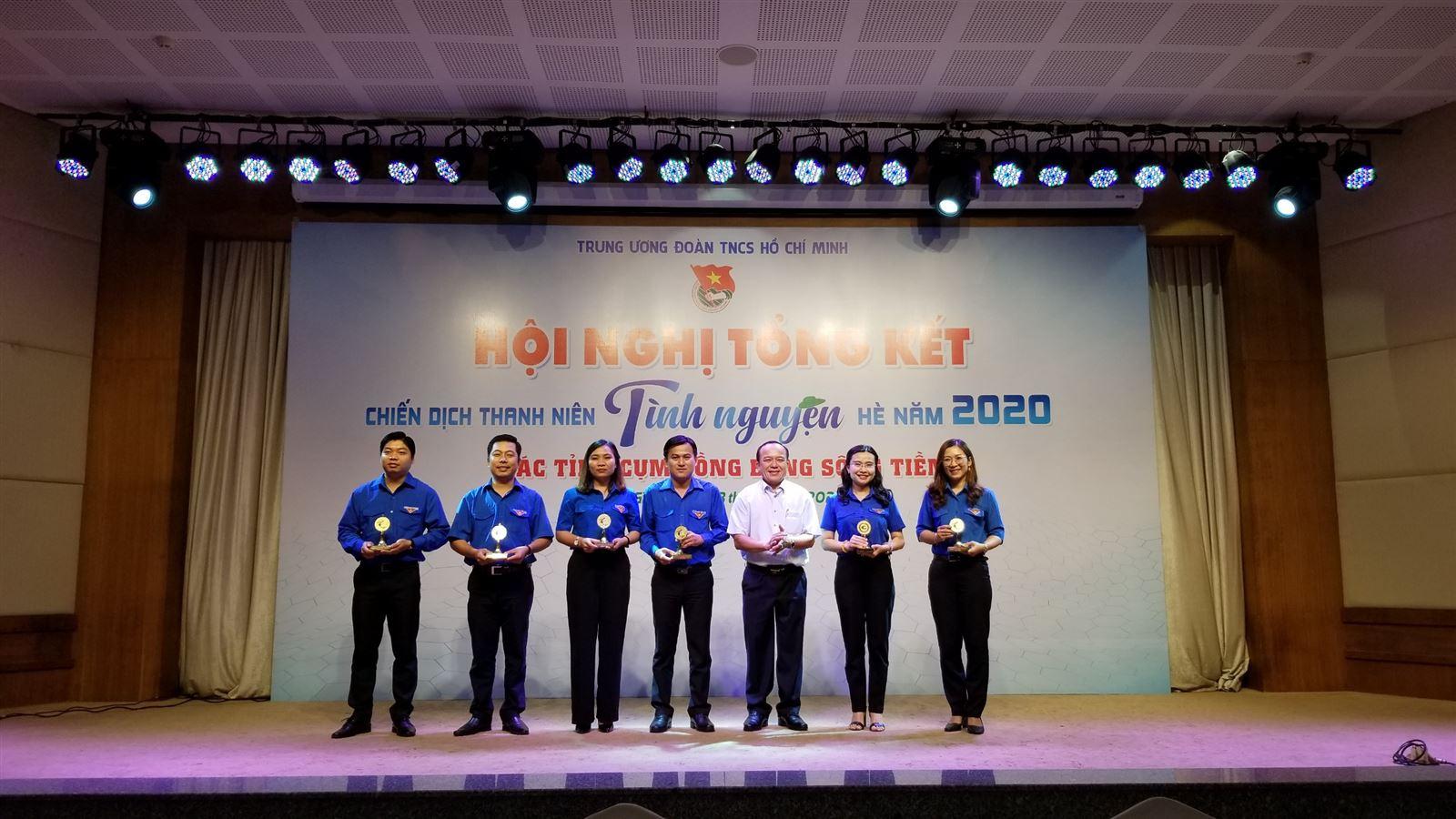 Hội nghị tổng kết Chiến dịch TNTN Hè năm 2020 - Các tỉnh cụm Đồng bằng sông Tiền