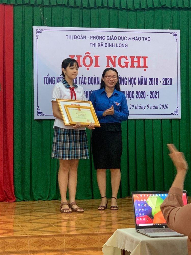 Trần Mai Thanh Thảo gương sáng về học tập và rèn luyện