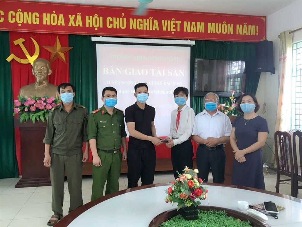Bông hoa việc tốt của thiếu nhi Bắc Ninh