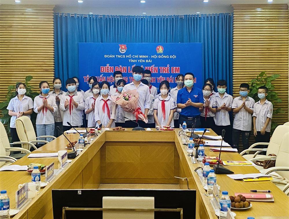Yên Bái: Tập huấn Hội đồng trẻ em và Diễn đàn lấy ý kiến trẻ em năm 2021