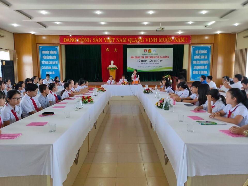 Kỳ họp thứ IV Hội đồng trẻ em thành phố Đà Nẵng nhiệm kỳ 2019-2020