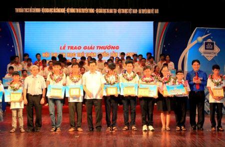 249 thí sinh tham dự Hội thi Tin học trẻ toàn quốc lần XXI năm 2015