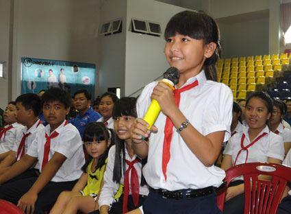 """Bà Rịa - Vũng Tàu tổ chức diễn dàn """"Lắng nghe trẻ em nói"""", tổng kết hoạt động hè"""
