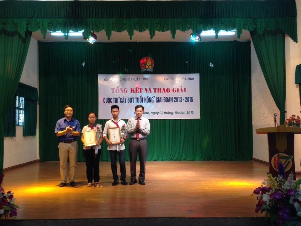 Hòa Bình: Tổ chức và trao giải Cuộc thi