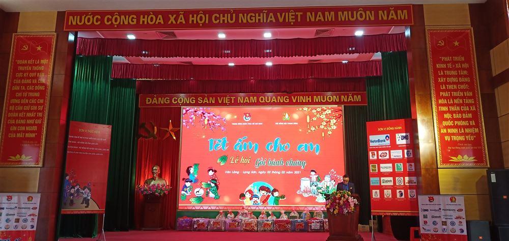Chương trình Tết ấm cho em năm 2021 tại tỉnh Lạng Sơn