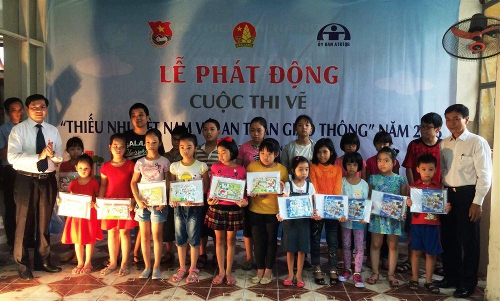 Phát động cuộc thi vẽ tranh Thiếu nhi Việt Nam với An toàn giao thông