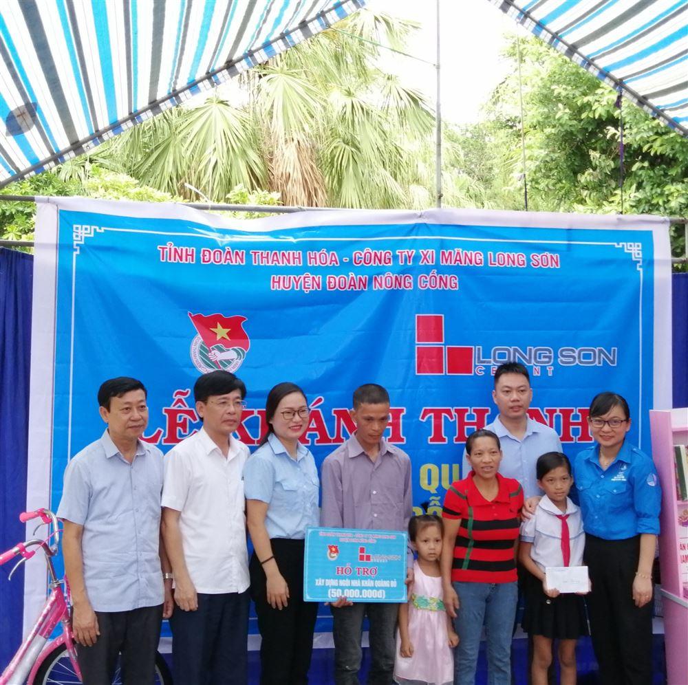 Thanh Hóa tổ chức Lễ khánh thành Ngôi nhà Khăn quàng đỏ