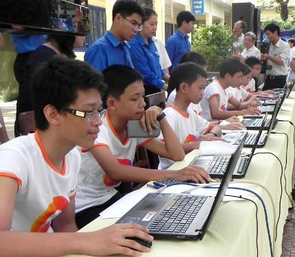 """Gần 250 nghìn học sinh THCS tham gia Cuộc thi """"Chinh phục vũ môn"""""""