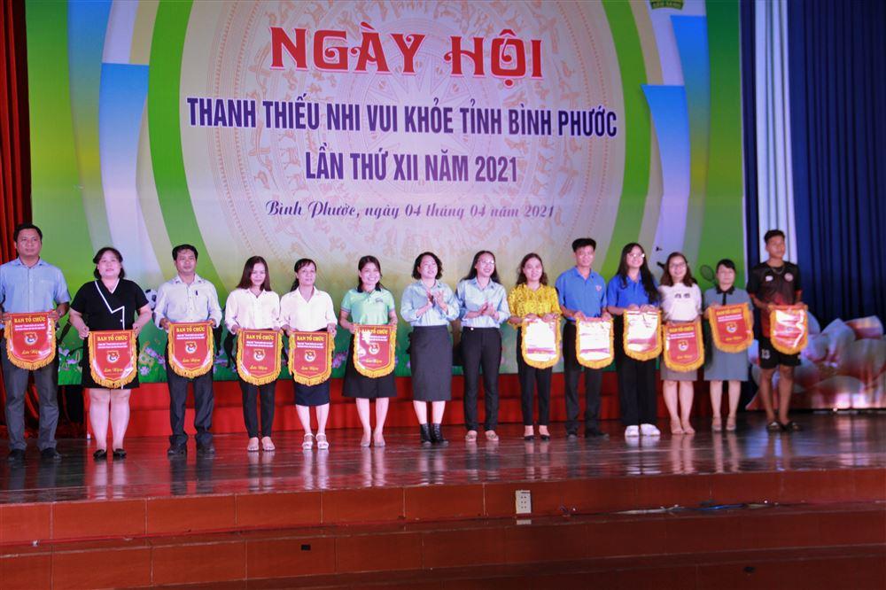 """Bình Phước: Tưng bừng Ngày hội """"Thanh thiếu nhi vui khỏe"""" tỉnh Bình Phước lần thứ XII năm 2021"""