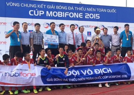 Viettel 1 đoạt Cúp Mobifone 2015