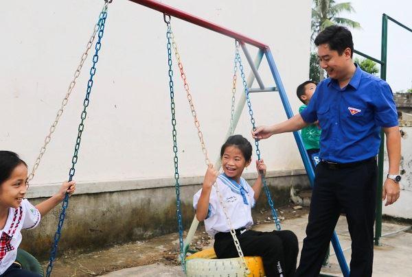 Nghệ An: Khánh thành 2 điểm vui chơi mới cho thiếu nhi