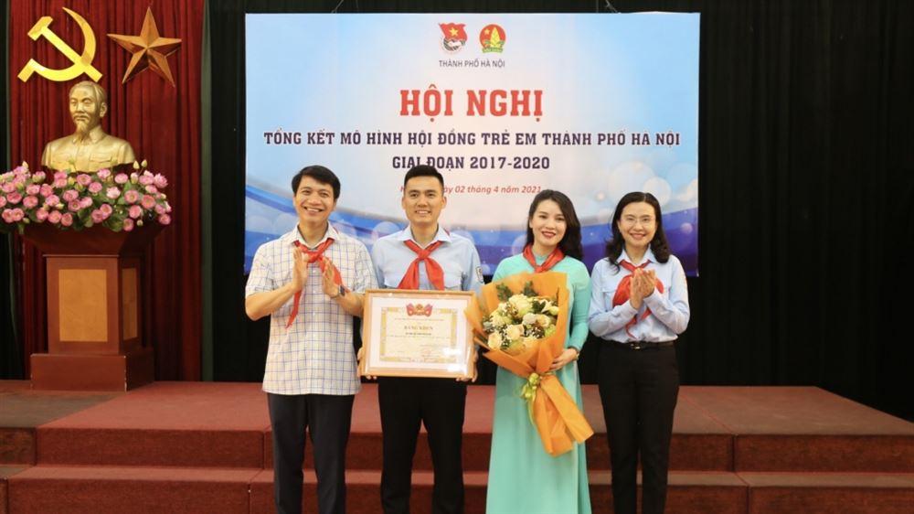 Hội nghị tổng kết mô hình Hội đồng trẻ em thành phố Hà Nội, giai đoạn 2017 - 2020