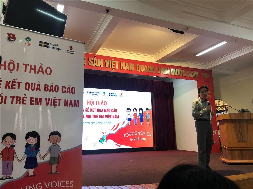 Hải Phòng: Hội thảo thúc đẩy sự tham gia và tiếng nói trẻ em trong các vấn đề về trẻ em