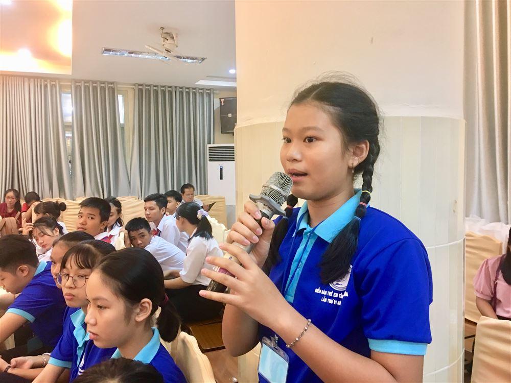 Diễn đàn Trẻ em tỉnh Khánh Hòa 2020