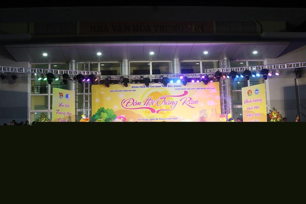 Bắc Giang: 3000 thiếu nhi tham gia chương trình Đêm hội Trăng Rằm